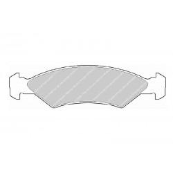 Disk brake pads EGT 321415