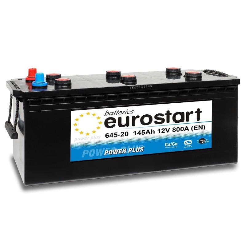 EUROSTART POWER PLUS 64520 145Ah akumuliatorius