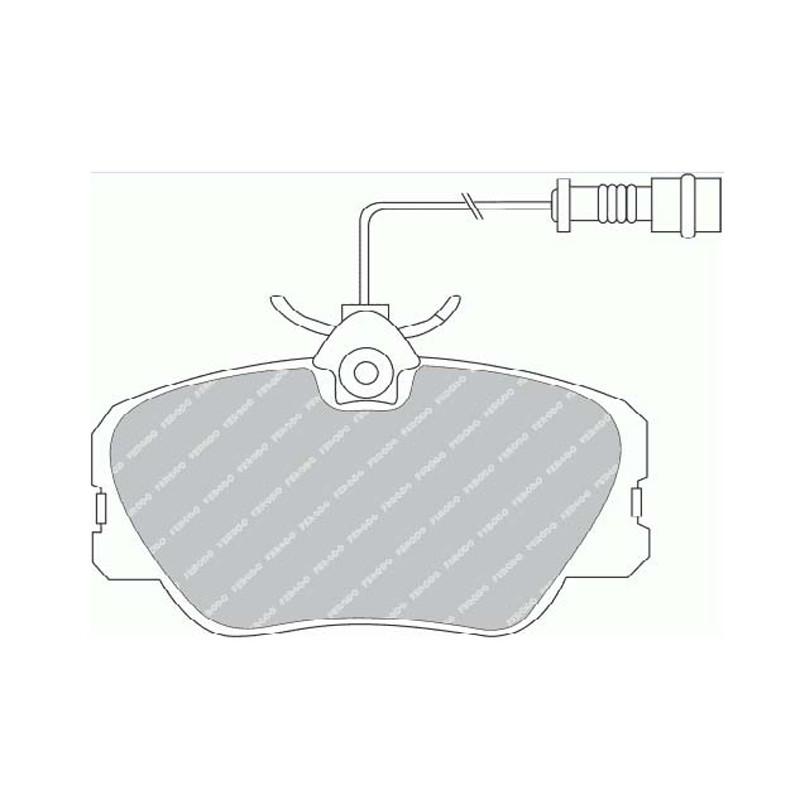 Disk brake pads EGT 321426