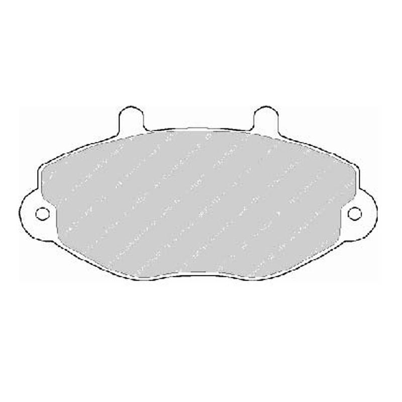 Diskinės stabdžių trinkelės FTH 701 (EGT 321466)