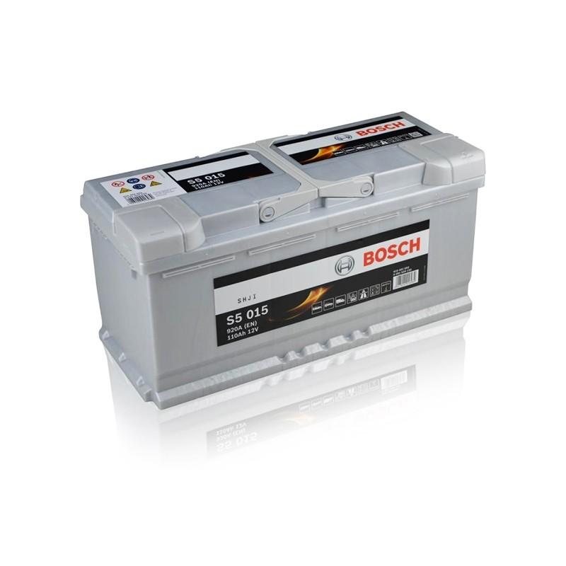 BOSCH S5015 (610402092) 110Ah akumuliatorius