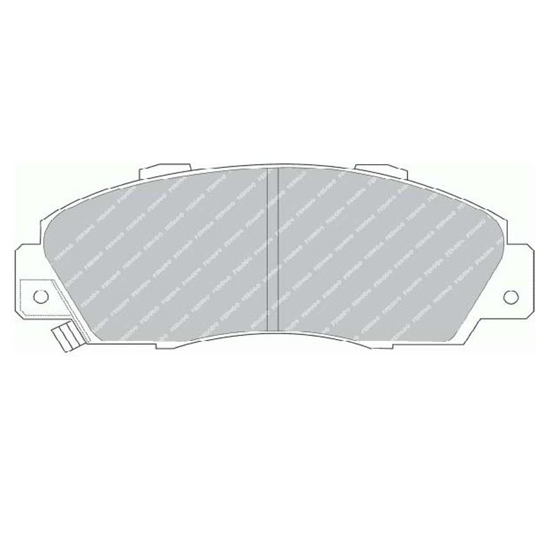 Disk brake pads EGT 321478