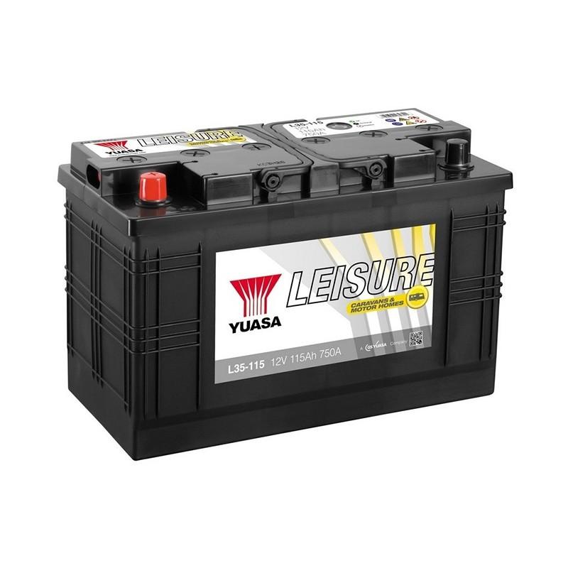 YUASA Leisure L35-115 115Ah akumuliatorius