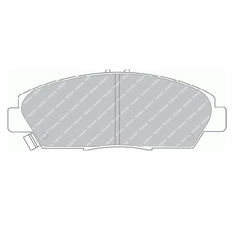 Disk brake pads EGT 321469
