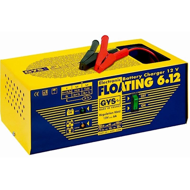 Зарядное устройство аккумуляторов GYS-FLOATING-6.12