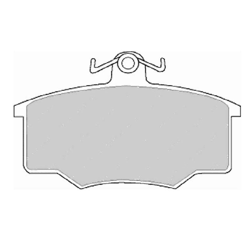 Diskinės stabdžių trinkelės EGT 321402