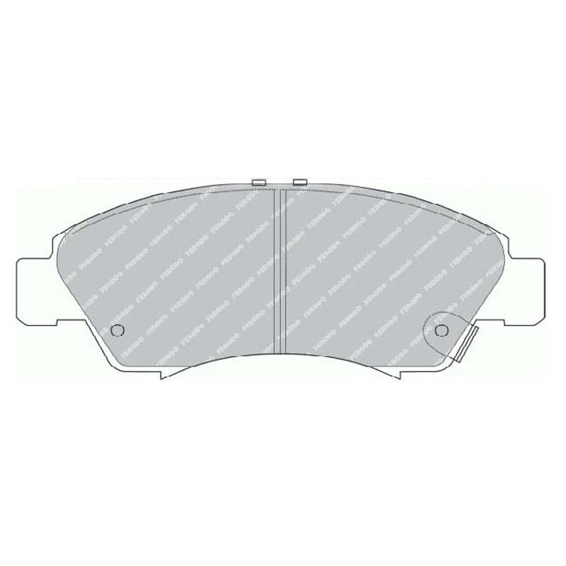 Disk brake pads EGT 321482