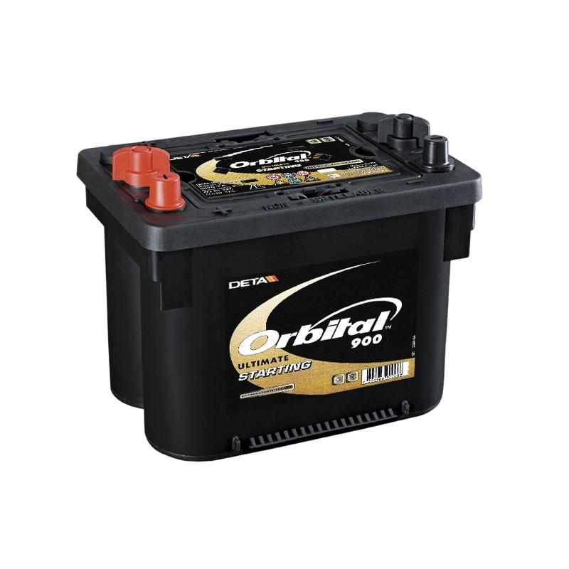 DETA ORBITAL 900 50Ah AGM/SPIRAL akumuliatorius