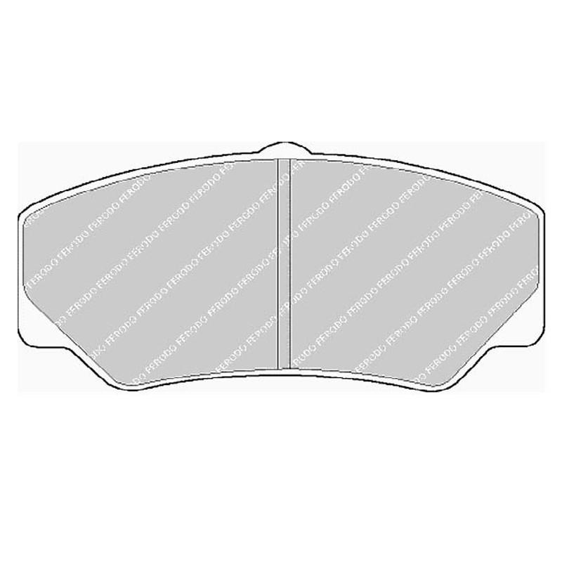 Disk brake pads EGT 321445
