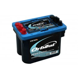 DETA ORBITAL 900DC 50Ah AGM/SPIRAL battery