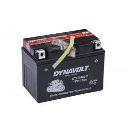 DYNAVOLT DTZ12S-BS 11Ah akumuliatorius