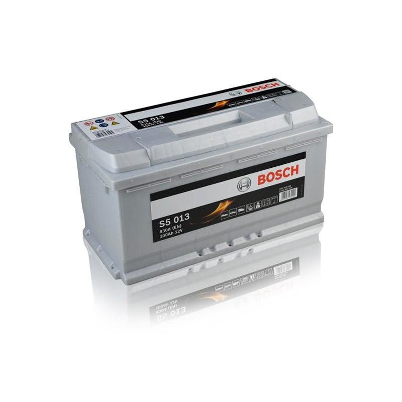 BOSCH S5013 (600402083) 100Ah akumuliatorius