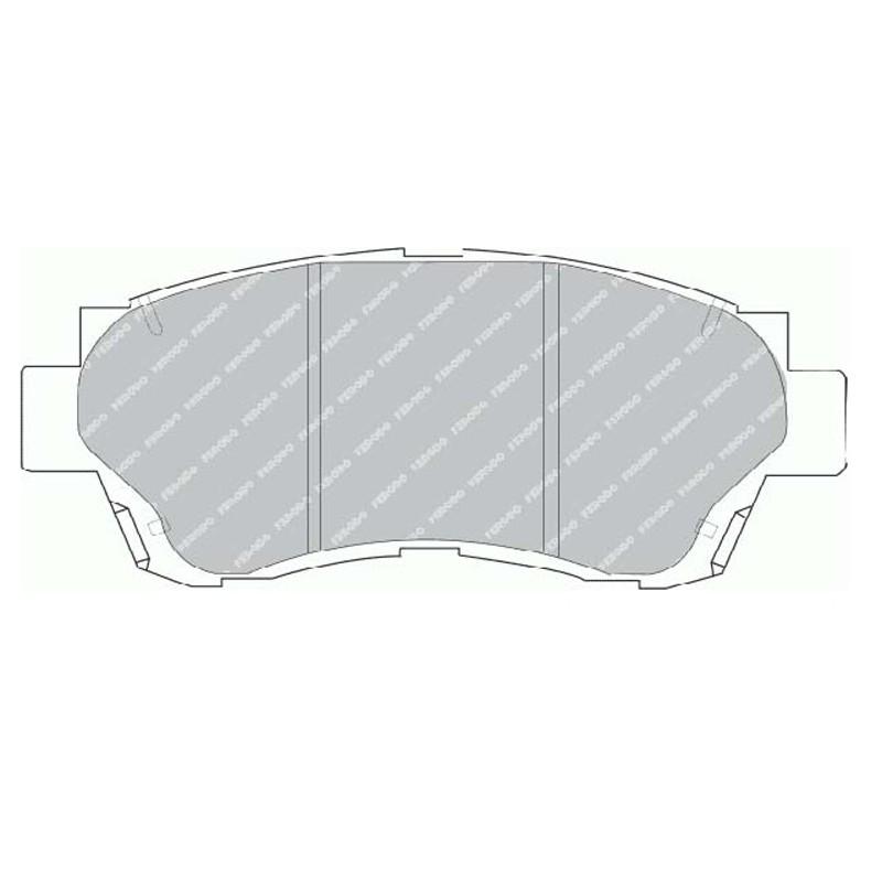 Disk brake pads FTH 868 (EGT 321486)