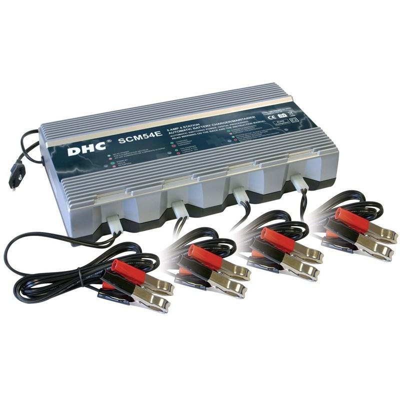 Įkroviklis 4 akumuliatoriams GYS-DHC54E