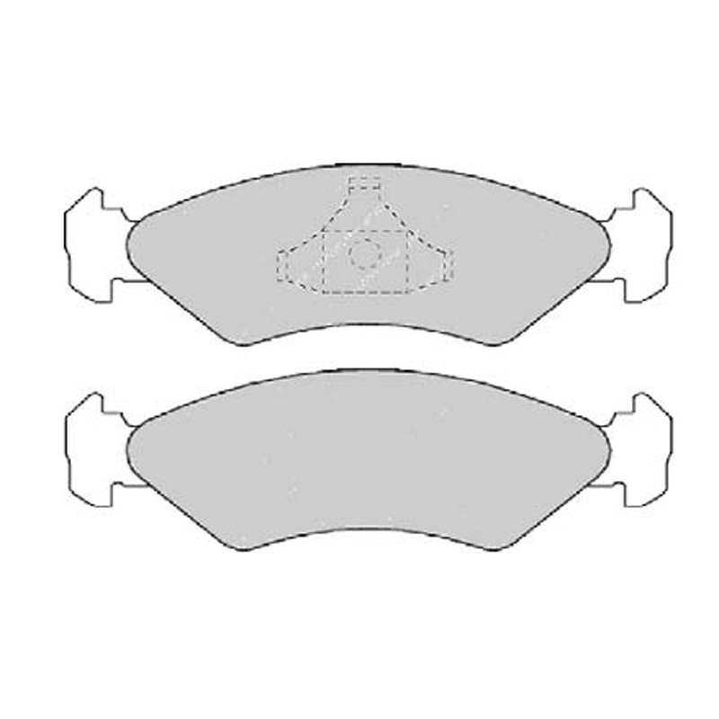 Diskinės stabdžių trinkelės EGT 321450
