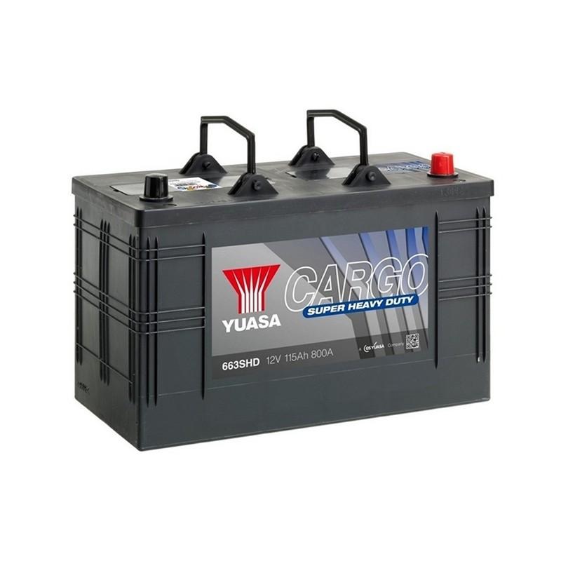 YUASA 663SHD CARGO SHD akumuliatorius