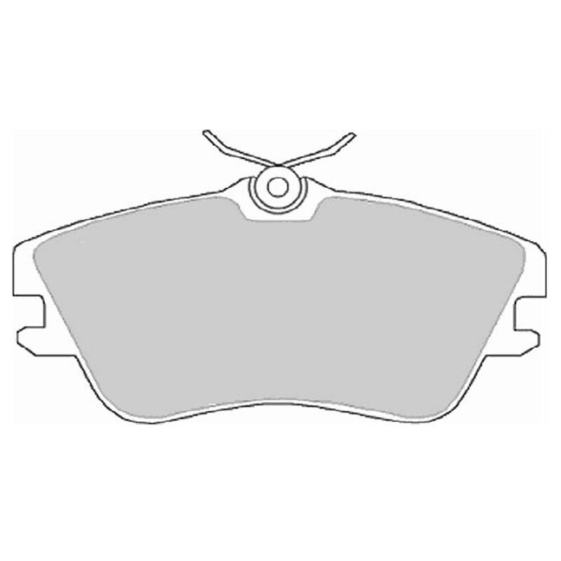 Diskinės stabdžių trinkelės EGT 321468