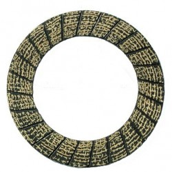 Antdėklas sankabos diskui (1 vnt.) A 190x135x3,5