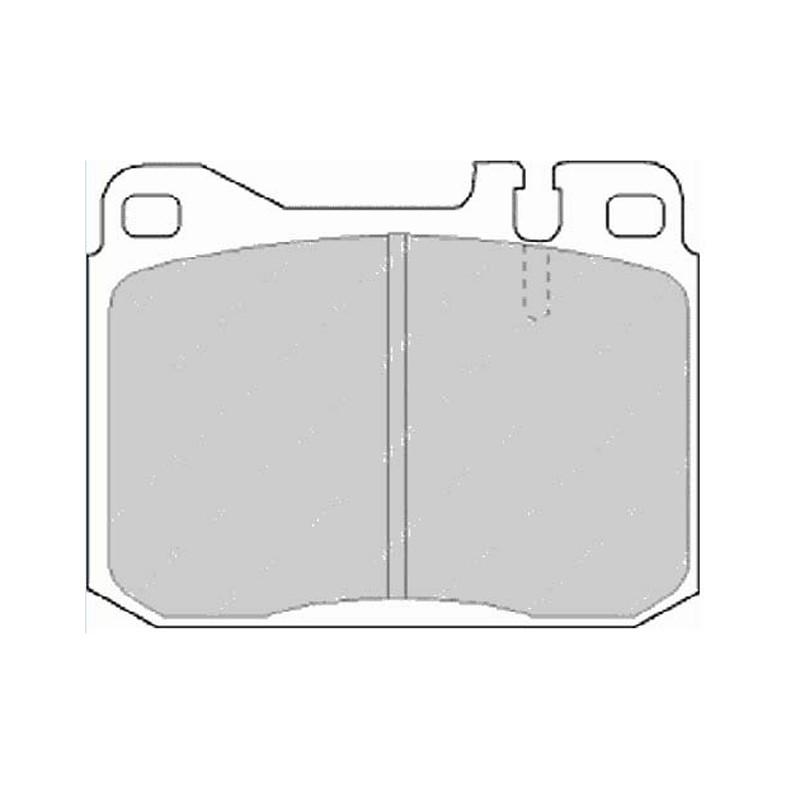 Disk brake pads FTH 243 (EGT 321396)