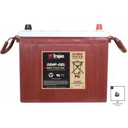 TROJAN 5SHPGEL 125Ah deep cycle battery