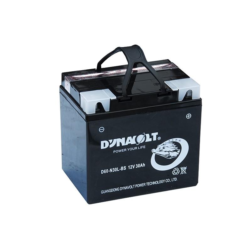 DYNAVOLT D60-N30L-BS 30Ач аккумулятор