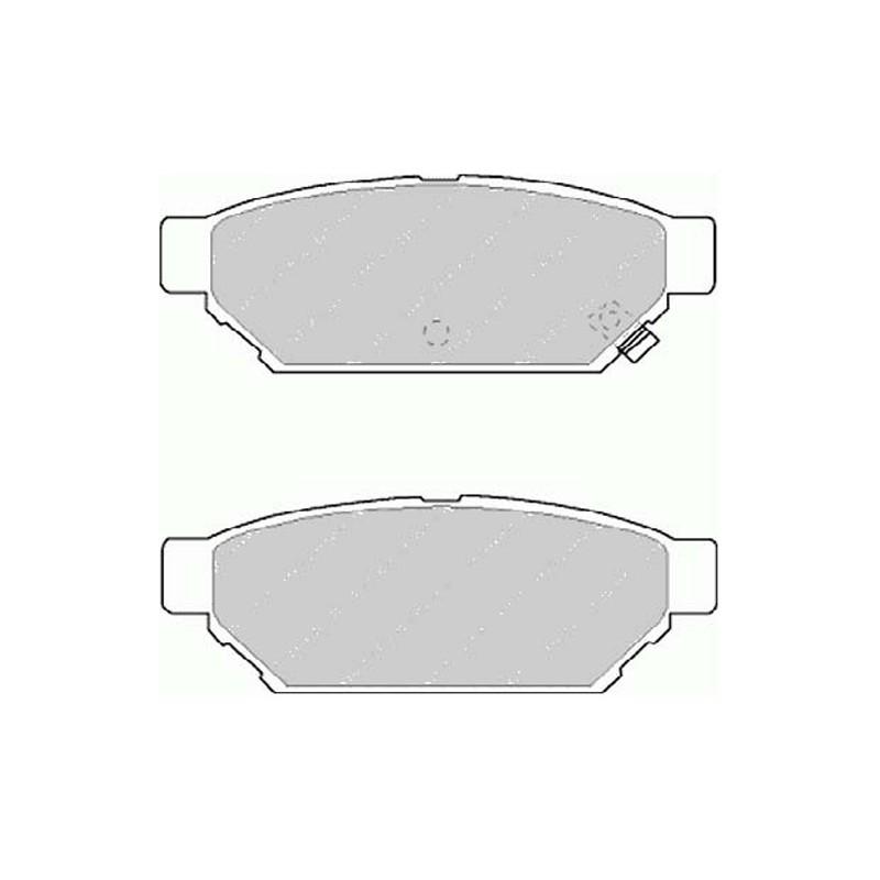 Disk brake pads FTH 1013 (EGT 321550)