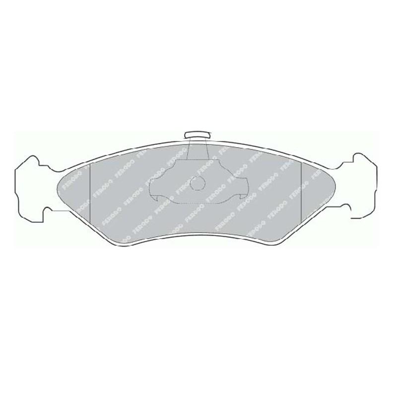 Disk brake pads EGT 321557