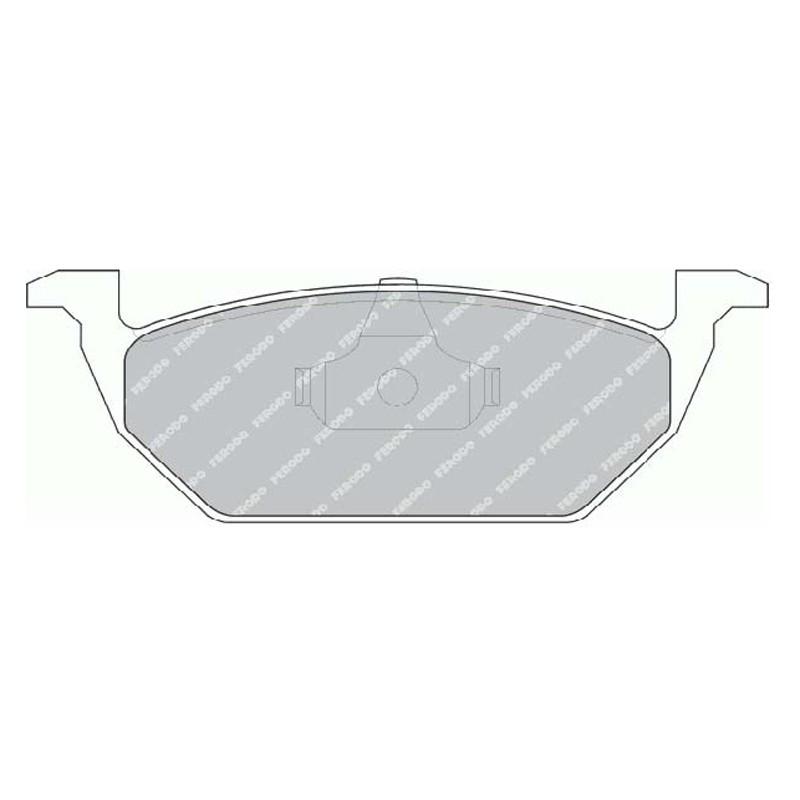 Disk brake pads EGT 321534