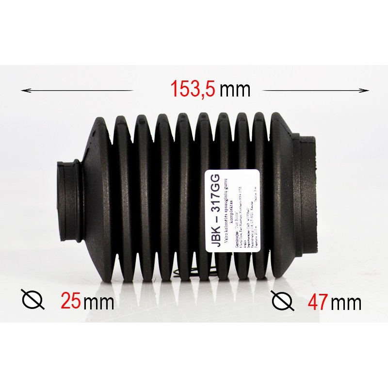 Vairo mechanizmo apsauginė guma JBK-0317G