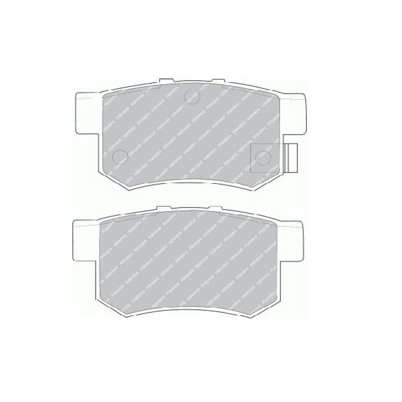Disk brake pads EGT 321515