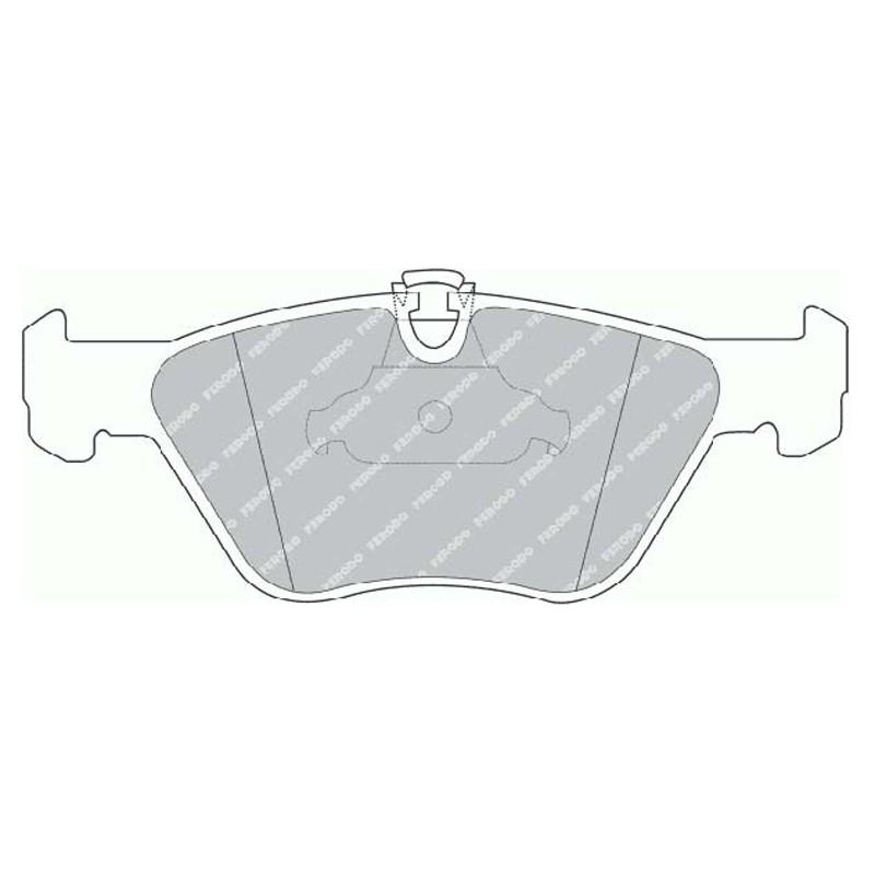 Disk brake pads EGT 321519