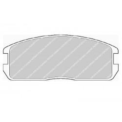 Дисковые тормозные колодки FTH 357 (EGT 321442)
