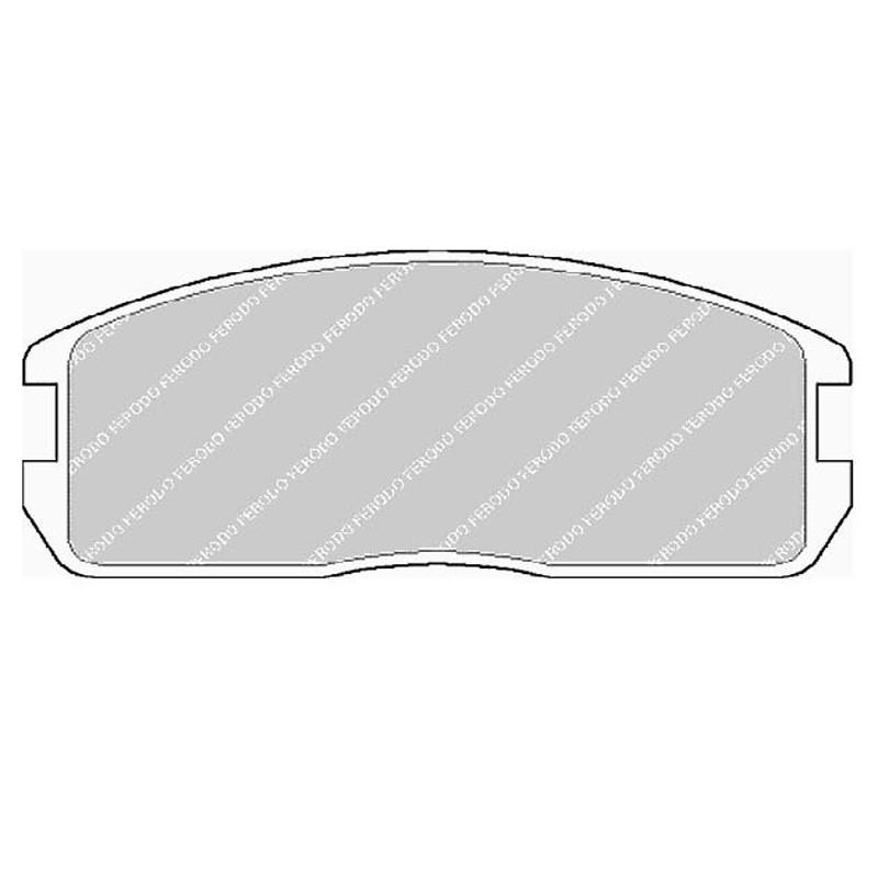 Diskinės stabdžių trinkelės FTH 357 (EGT 321442)