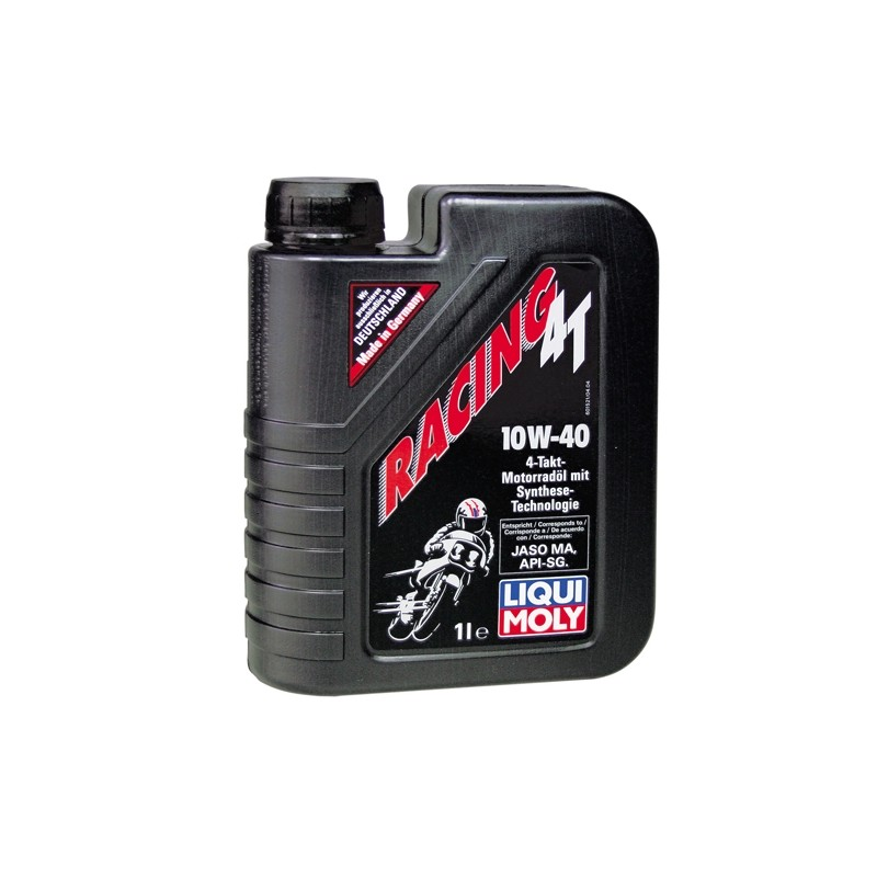 Semi-synthetic 2-stroke motor oil RACING 4T LIQUI MOLY 1521