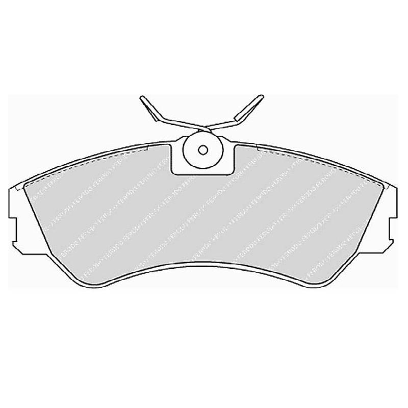 Diskinės stabdžių trinkelės FTH 785 (EGT 321395)