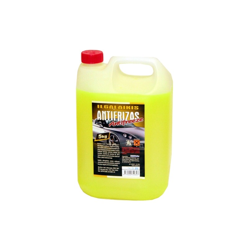 Antifreeze coolant LONG LIFE G11 -35°C (yellow)