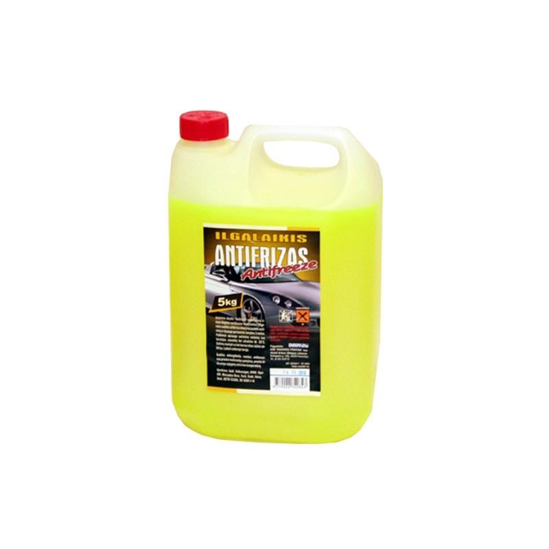 Aušinimo skystis ILGALAIKIS ANTIFRIZAS G11 -35°C (geltonas)