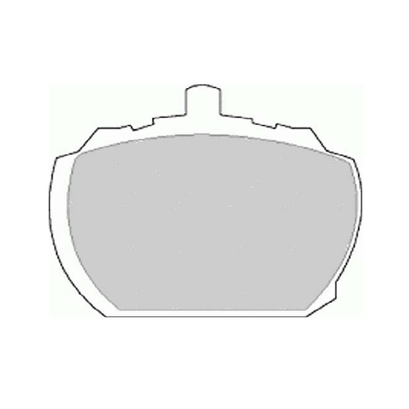 Diskinės stabdžių trinkelės FTH 833 (EGT 321398)
