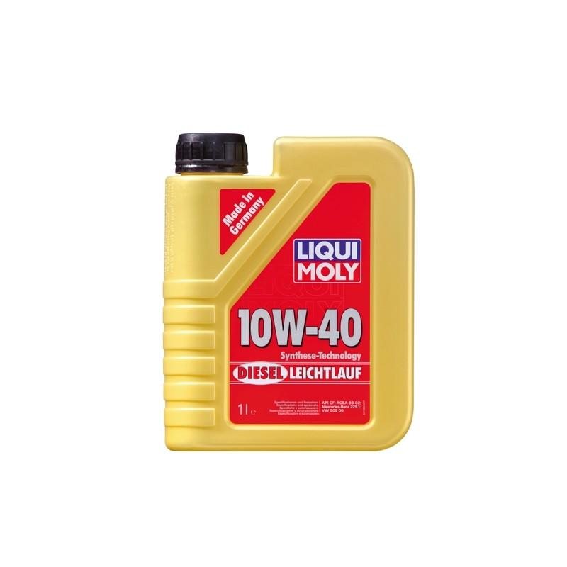 Diesel motor oil SAE 10W-40 DIESEL LEICHTLAUF LIQUI MOLY 1386
