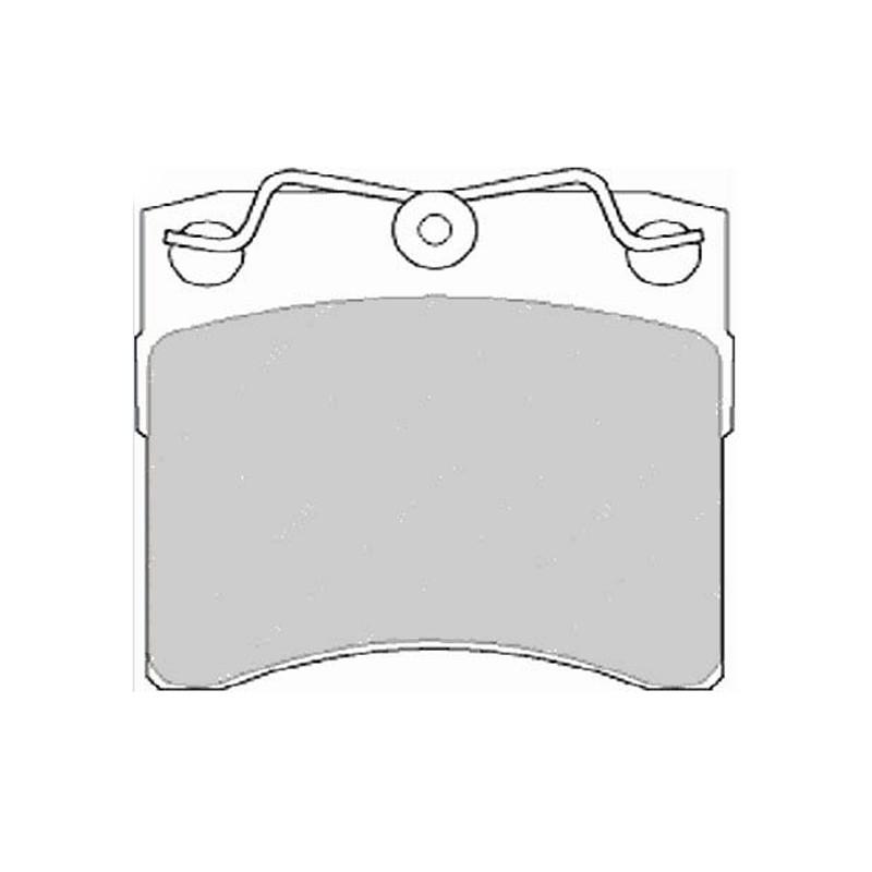Diskinės stabdžių trinkelės EGT 321543
