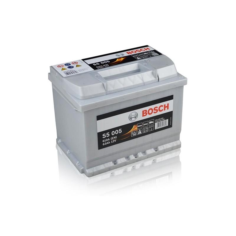BOSCH S5005 (563400610) 63Ah akumuliatorius