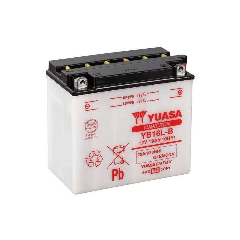 YUASA YB16L-B (51911) 20Ah (C20) akumuliatorius