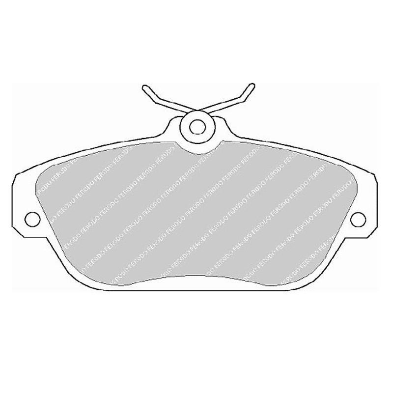 Diskinės stabdžių trinkelės EGT 321517