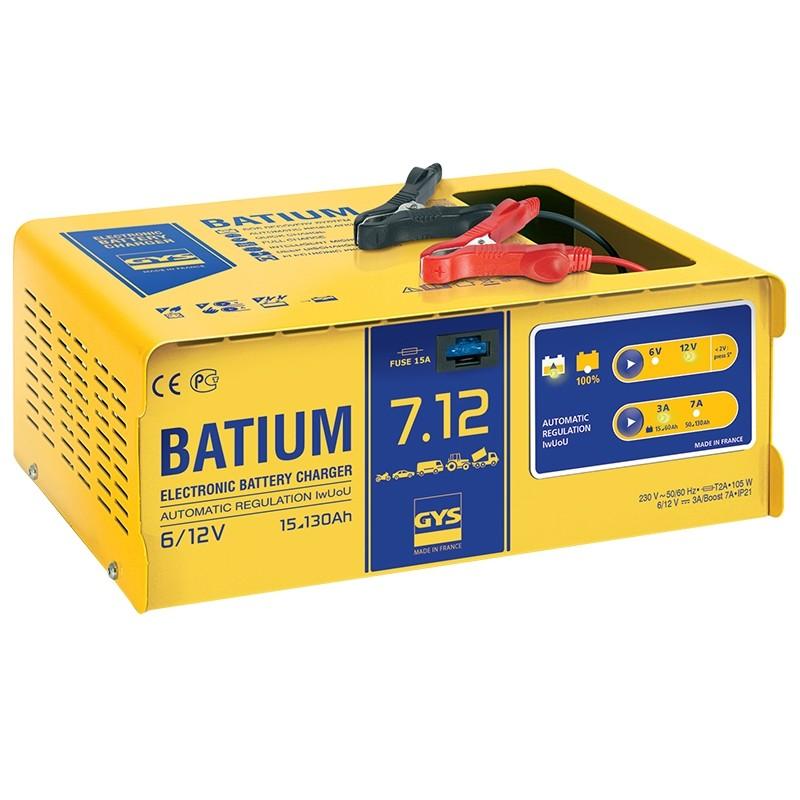Battery charger GYS-BATIUM-7/12