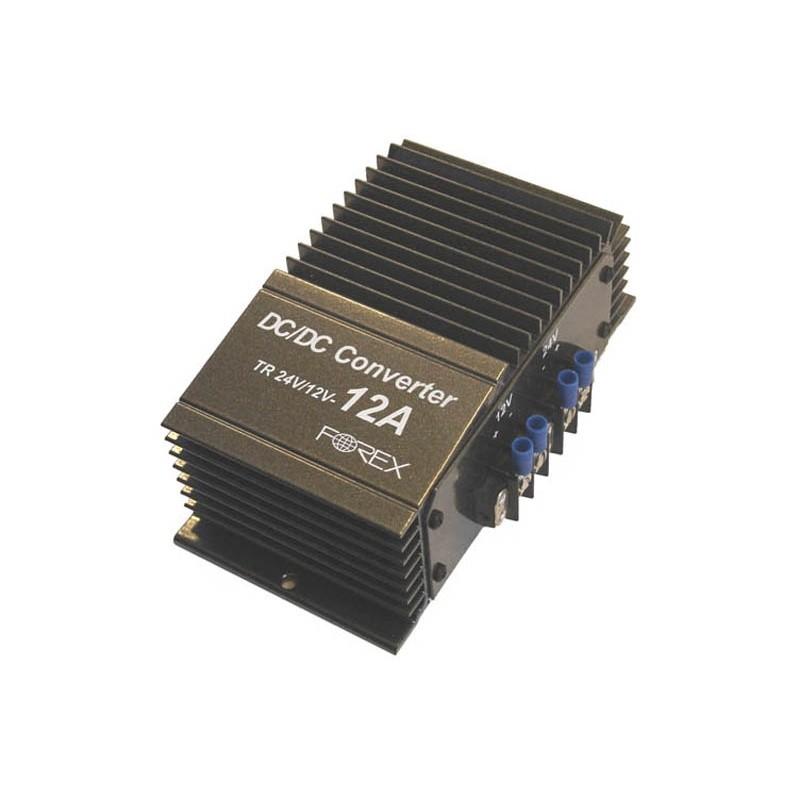 FOREX voltage converter 24V/12V 12A