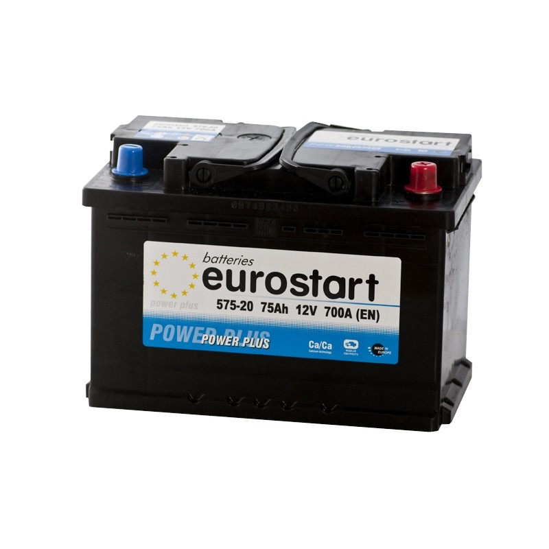 EUROSTART POWER PLUS 57520 75Ah battery