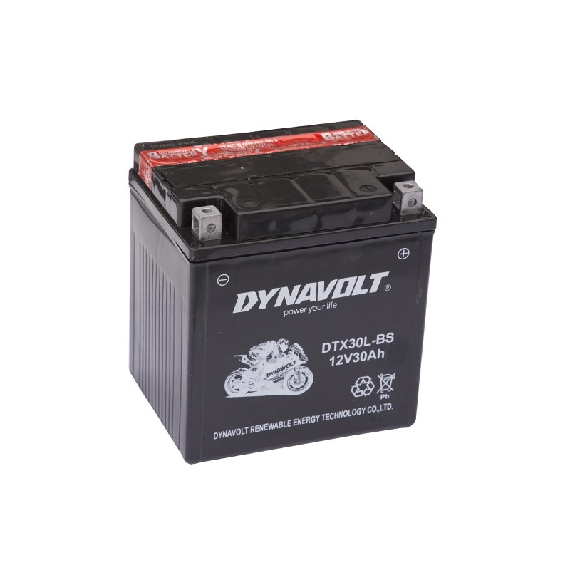 DYNAVOLT DTX30L-BS 30Ah akumuliatorius