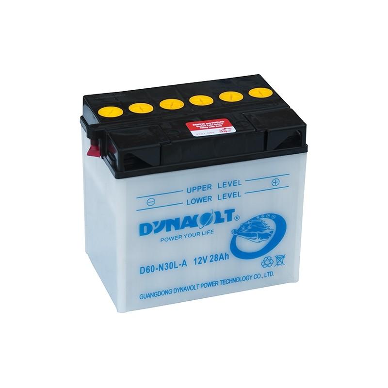DYNAVOLT D60-N30L-A (53030) 28Ah akumuliatorius
