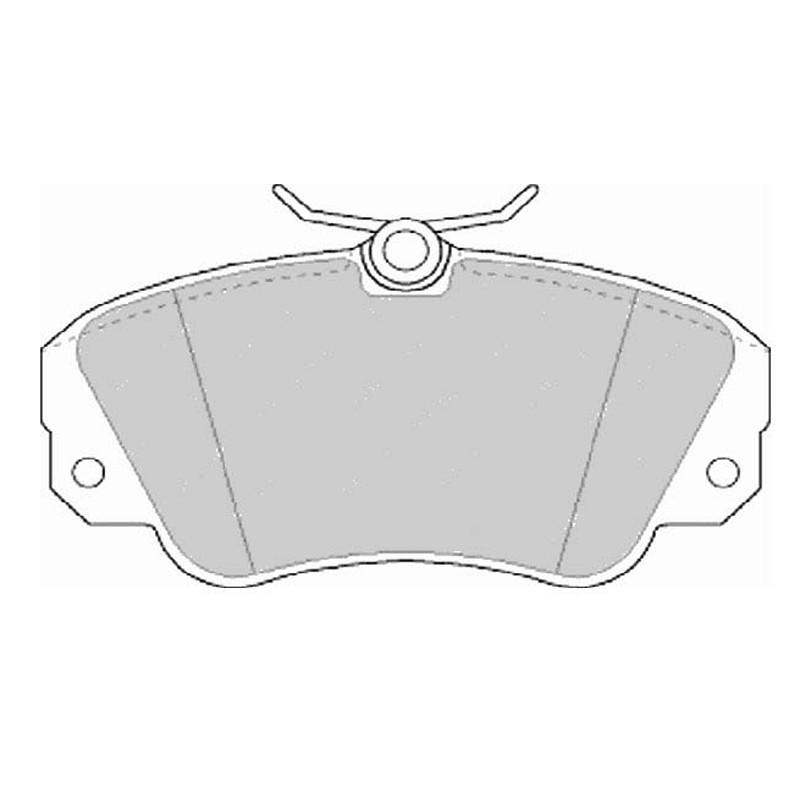 Disk brake pads EGT 321542