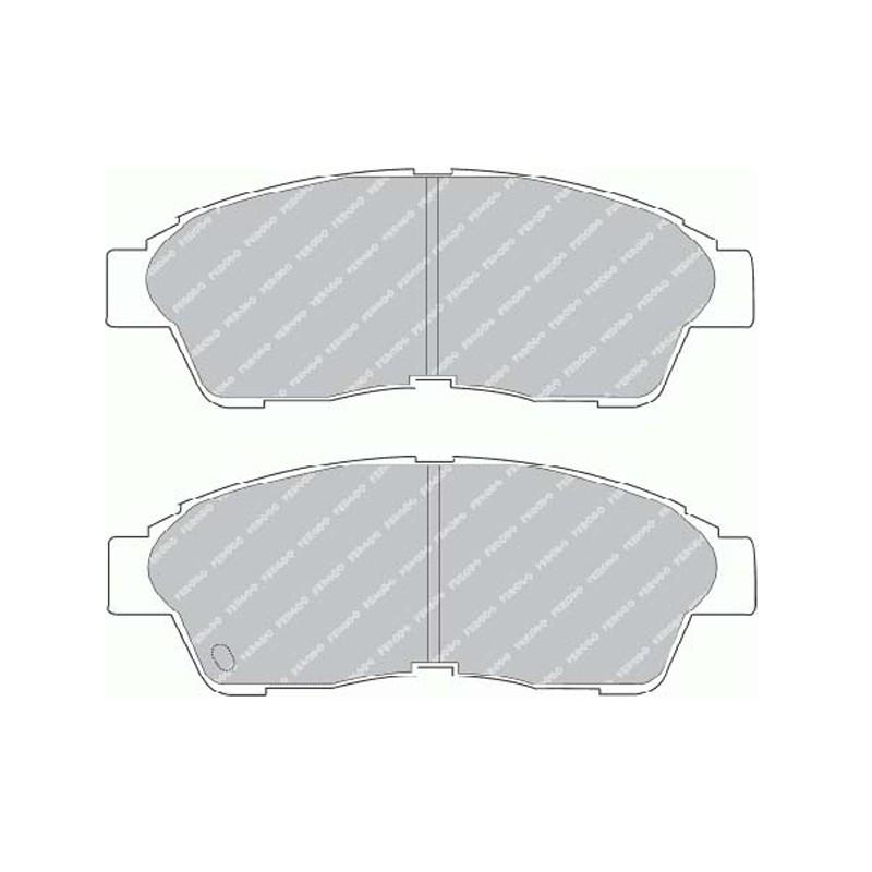 Disk brake pads EGT 321474